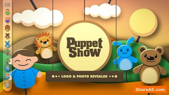 Videohive Puppet Show - Revealer