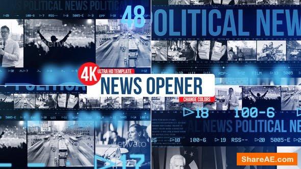 Videohive News Opener 22303204