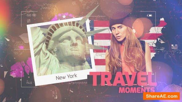 Videohive Travel Moments Slideshow