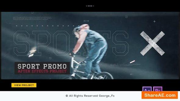 Videohive Sport Promo 21700141 - Premiere Pro