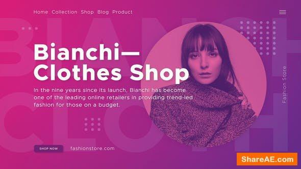 Videohive Fashion Shop - Premiere Pro