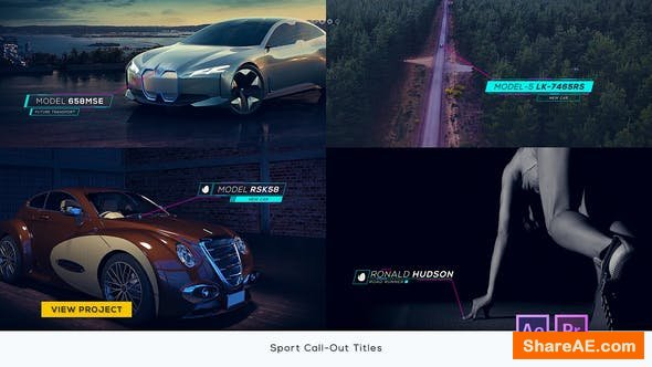 Videohive Sport Call-Out Titles - Premiere Pro