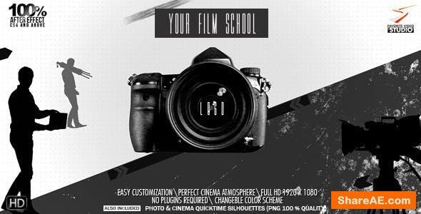 Videohive Cinema Or Photo School Logo