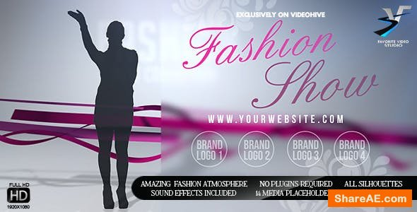 Videohive Fashion Show Promo for Your Boutique
