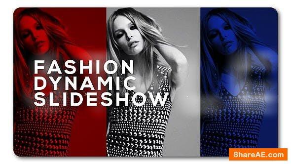 Videohive Slideshow Fashion Dynamic