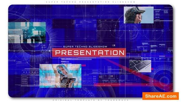 Videohive Super Techno Presentation Slideshow