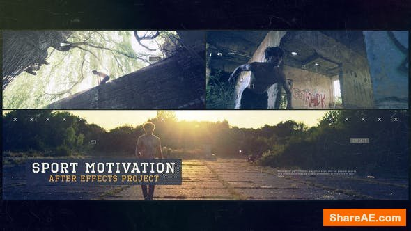 Videohive Sport Motivation - Premiere Pro