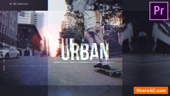 Videohive Urban Opener - Premiere Pro