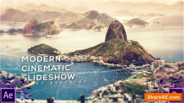 Videohive Cinematic Modern Parallax Slideshow - Premiere Pro