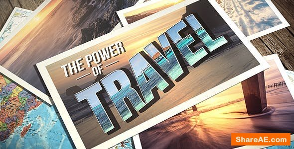Videohive Photo Gallery Travel