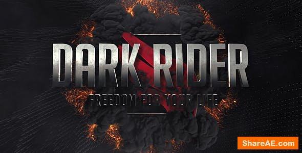 Videohive Dark Rider Trailer