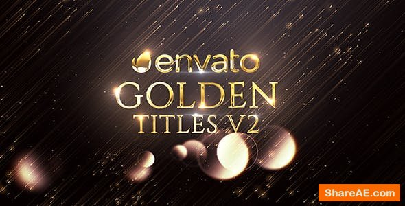 Videohive Golden Titles 20919181
