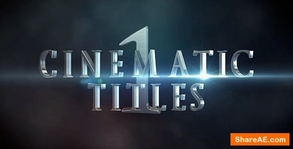 Videohive Cinematic Titles 1