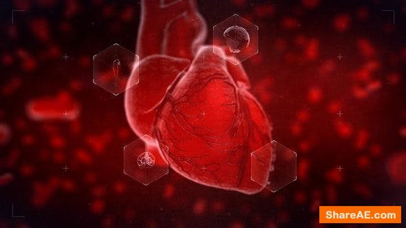 Videohive Heart Reveal