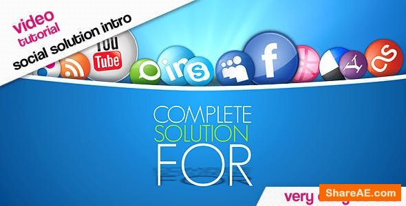 Videohive Bubbles Social Solution Promote