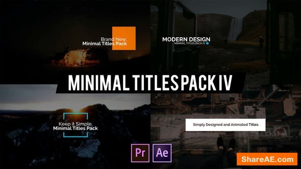 Videohive Minimal Intro Titles lV for Premiere Pro