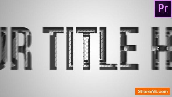 Videohive Corporate Layer Title Transition - Premiere Pro