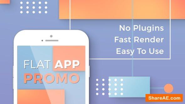 Videohive Flat App Promo