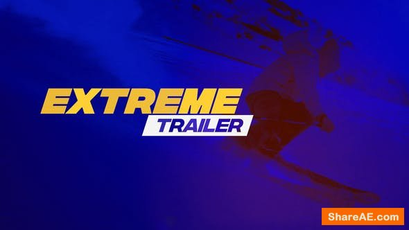 Videohive Extreme Trailer