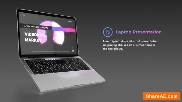 Videohive Laptop Website Presentation