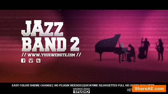 Videohive Jazz Band 2