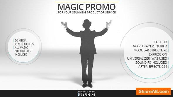 Videohive Favorite Magic Promo