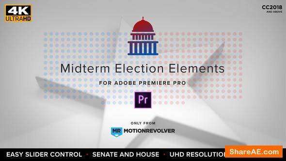 Videohive Midterm Election Elements - House & Senate | MOGRT for Premiere Pro