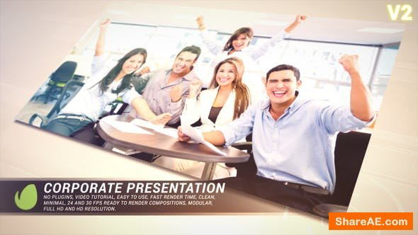 Videohive Golden Corporate Presentation