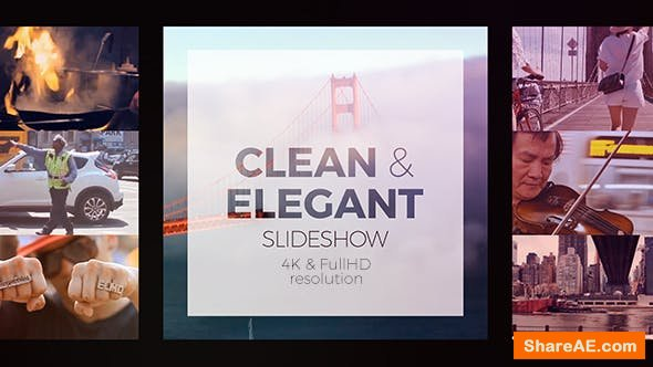 Videohive Clean Elegant Slideshow