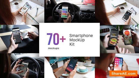 Videohive Smartphone Mockup Kit