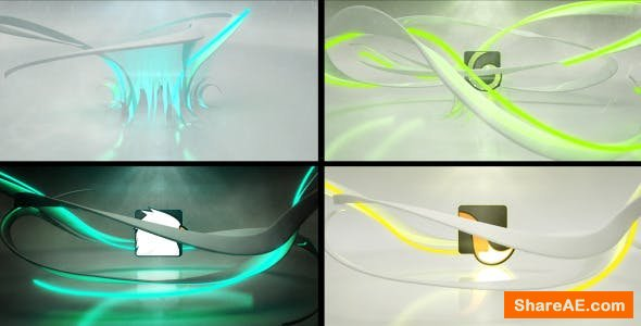 Videohive Rising From the Floor Neon Logo