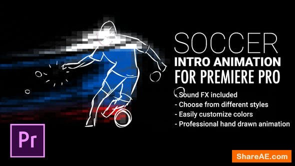 Videohive Soccer Intro Animation For Premiere Pro