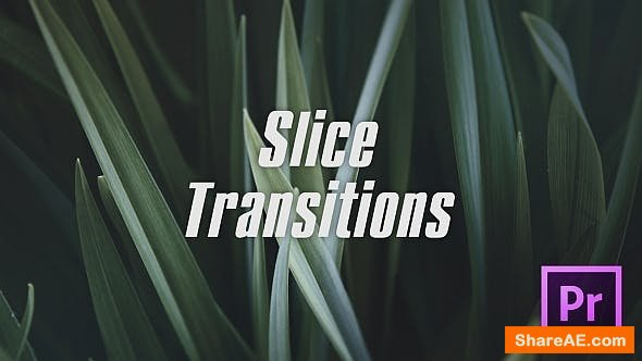 Videohive Slice Transitions - Premiere Pro