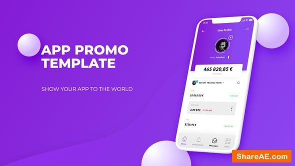 Videohive Color App Promo