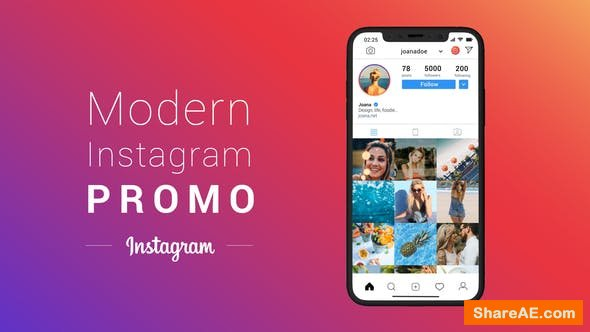 Videohive Modern Instagram Promo