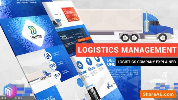 Videohive Logistics Management Explainer » free after effects