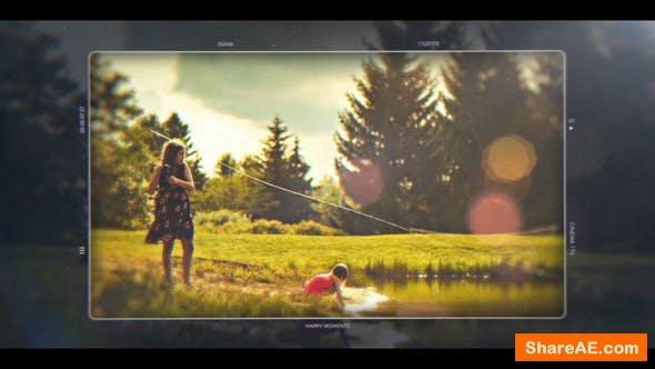 Videohive Happy Moments | Cinematic Slideshow