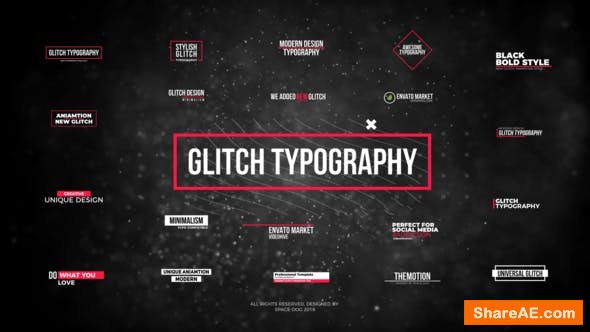 Videohive Glitch Modern Titles // FCPX or Apple Motion