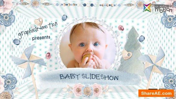 Videohive Baby Slideshow 23495063