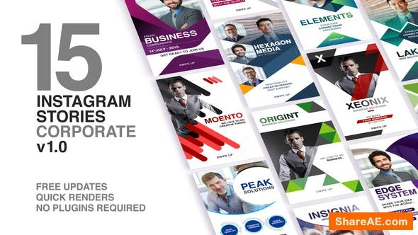 Videohive Instagram Stories - Corporate
