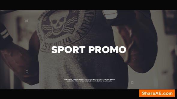 Videohive Sport Promo 21839523