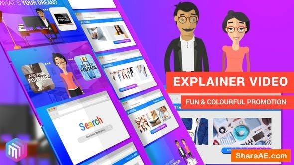 Videohive Explainer Video | Dream Shopping Online