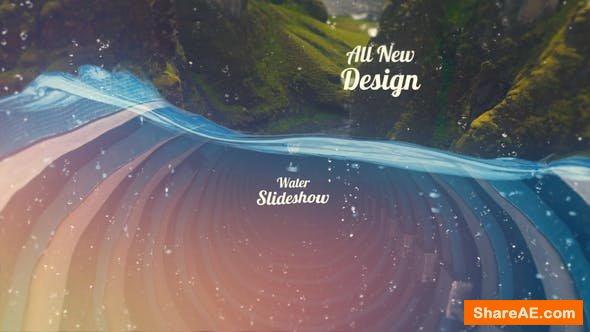 Videohive Water Slideshow