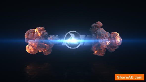 Videohive Short Explosion Logo