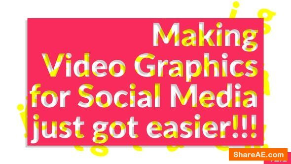 Videohive Social Media Video Graphics v2.1