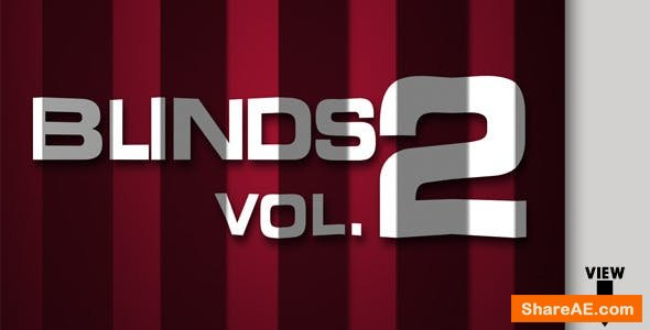 Videohive Transitions Pack - Blinds Vol. 2