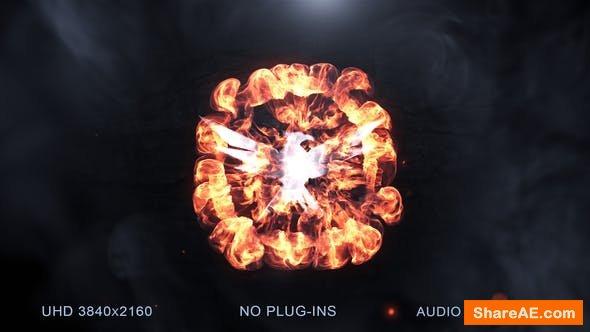 Videohive Logo Slam Explosion