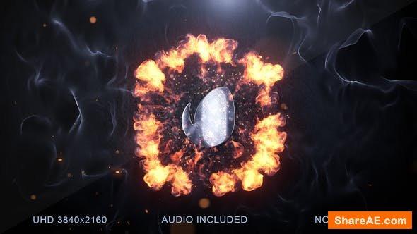 Videohive Explosion Logo Reveal v2