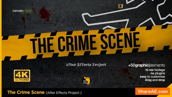 Videohive The Crime Scene Opener