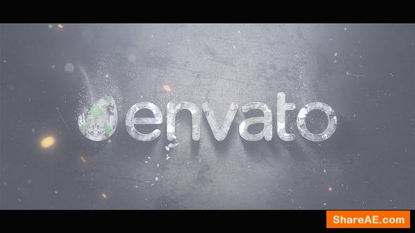 Videohive Mist Logo Reveal